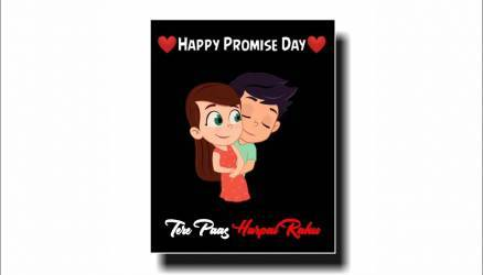 New Happy Promise Day Status For Whatsapp Poster